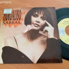 Discos de vinilo: FIORDALISO (SABRAS) SINGLE 1992 ESPAÑA PROMO (EPI24). Lote 277186398