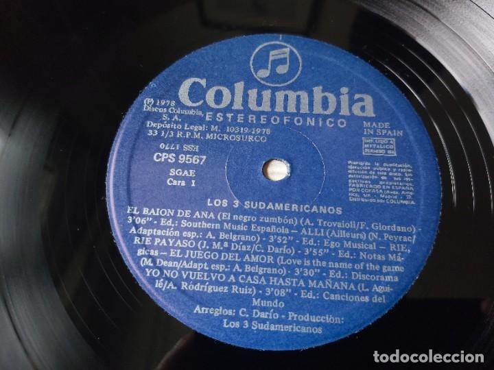 Discos de vinilo: Los 3 Sudamericanos ,Vinyl LP 1978 Spain CPS 9567 - Foto 3 - 277186728