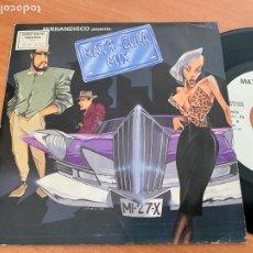 Discos de vinilo: FERNANDISCO (MATRICULA-MIX) SINGLE 1986 ESPAÑA PROMO (EPI24). Lote 277186823