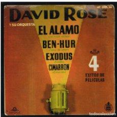 Discos de vinilo: DAVID ROSE - 4 EXITOS DE PELICULAS - EP 1961 - SOLO FUNDA, SIN VINILO. Lote 277188903