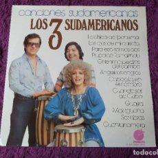 Discos de vinilo: LOS 3 SUDAMERICANOS – CANCIONES SUDAMERICANAS , VINYL LP 1977 SPAIN EL-313. Lote 277189933