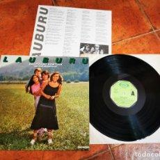 Discos de vinilo: LAUBURU BALITZAKO KONTUAK RELATOS HIPOTETICOS LP VINILO AÑO 1980 ESPAÑA ENCARTE FOLK POP VASCO RARO. Lote 277190473