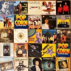 Discos de vinilo: LOTE 25 SINGLES INTERNACIONAL VARIADO. Lote 277190673