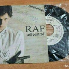 Discos de vinilo: RAF SELF CONTROL (PART I) SINGLE VINILO PROMO DEL AÑO 1984 ESPAÑA CONTIENE 1 TEMA. Lote 277191948