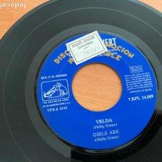 Discos de vinilo: EDDIE CALVERT (I FANTASTICO, VELDA +2) EP ESPAÑA PROMO (EPI24). Lote 277192538