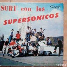 Discos de vinilo: SURF CON LPS SUPERSONICOS- LP SOUVENIR 1964 VENEZUELA. Lote 277194338