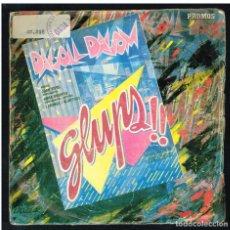 Discos de vinilo: DAGOLL DAGOM - GLUPS - SINGLE 1984. Lote 277195283