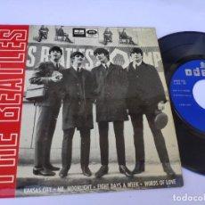 Discos de vinilo: BEATLES - EP SPAIN PS - KANSAS CITY - ODEON DSOE 16.643. Lote 277197568