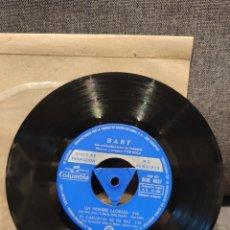 Discos de vinilo: RARO EP PROMOCIONAL BABY, PROGRESO +3, JOSÉ SOLA, 1966. Lote 277200228