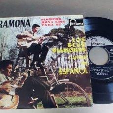 Discos de vinilo: LOS BLUE DIAMONDS-EP RAMONA +3. Lote 277200448