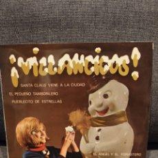 Discos de vinilo: EP VILLANCICOS POR NENE, SANTA CLAUS VIENE...+3, 1965. Lote 277200563