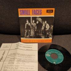 Discos de vinilo: RARO SINGLE PROMOCIONAL THE SMALL FACES MY MIND'S EYE + I CAN'T... DECCA 1966. Lote 277200718