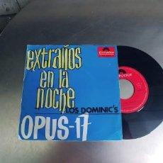 Discos de vinilo: LOS DOMINIC´S-SINGLE EXTRAÑOS EN LA NOCHE. Lote 277200868