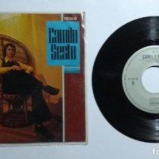 Disques de vinyle: CAMILO SESTO HABLAME DE AMOR ALMA DE NADIE EP 45 RPM MUY RARO. Lote 277203108