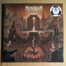 Discos de vinilo: MEMORIAM - THE SILENT VIGIL 12'' LP GATEFOLD NUEVO Y PRECINTADO - DEATH METAL. Lote 277203203