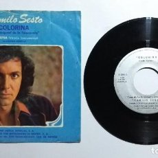 Disques de vinyle: CAMILO SESTO COLORINA 1980 EP 45 RPM MUY RARO DE MÉXICO. Lote 277204243