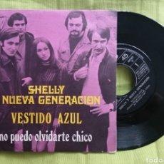 Disques de vinyle: SHELLY VESTIDO AZUL / NO PUEDO OLVIDARTE. Lote 277211088