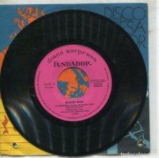 Discos de vinilo: MARCAS COMERCIALES - FUNDADOR 10.251 - MIGUEL RIOS / YO CREO EN TI + 3). Lote 277215453