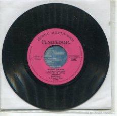 Discos de vinilo: MARCAS COMERCIALES - FUNDADOR 10.253 - (MIGUEL RAMOS / MAMY BLUE + 3). Lote 277215743
