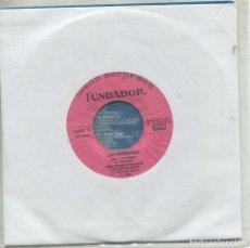 Discos de vinilo: MARCAS COMERCIALES - FUNDADOR 10.257 (LOS PEKENIKES) SOL Y SOMBRA+ 3). Lote 277216278
