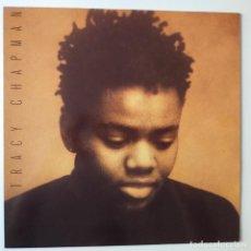 Discos de vinilo: TRACY CHAPMAN- SPAIN LP 1988 + 3 ENCARTES- COMO NUEVO.. Lote 277217963