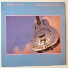 Discos de vinilo: DIRE STRAITS- BROTHERS IN ARMS- SPAIN LP 1985 + ENCARTE.. Lote 277220648