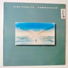 Discos de vinilo: DIRE STRAITS- COMMUNIQUE- SPAIN LP 1979 + ENCARTE- EXC. ESTADO.. Lote 277221558