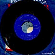 Discos de vinilo: MARCAS COMERCIALES - FUNDADOR 10,114 (TOMCATS) FUNDA ORIGINAL Y PUBLICIDAD PHIILIPS. Lote 277222088