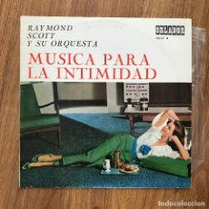 """Discos de vinilo: RAYMOND SCOTT - MÚSICA PARA LA INTIMIDAD - LP DE 10"""" ORLADOR 1966. Lote 277222348"""