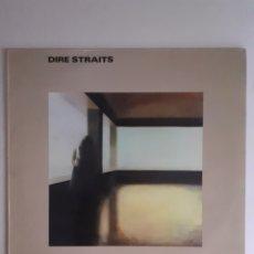 Discos de vinilo: DIRE STRAITS. 1ER ALBUM. 1978, ESPAÑA. 63 60 162. DISCO VG++. CARÁTULA VG++.. Lote 277223003
