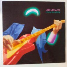 Discos de vinilo: DIRE STRAITS- MONEY FOR NOTHING- SPAIN LP 1988 + ENCARTE.. Lote 277223858