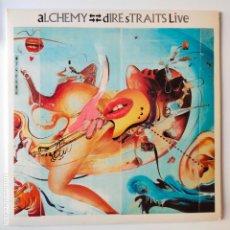 Discos de vinilo: DIRE STRAITS- ALCHEMY- SPAIN 2 LP 1984- VINILOS COMO NUEVOS.. Lote 277224473