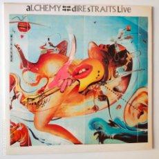 Discos de vinilo: DIRE STRAITS- ALCHEMY- SPAIN 2 LP 1984- VINILOS EXC. ESTADO.. Lote 277224973