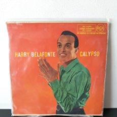 Discos de vinilo: MUY DIFICIL!! HARRY DELAFONTE. CALIPSO. RCA. 1958. SPAIN. Lote 277225828
