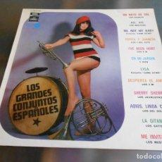 Discos de vinilo: GRANDES CONJUNTOS ESPAÑOLES, LOS, LP, LOS DIABLOS - UN RAYO DE SOL + 11, AÑO 1970. Lote 277226638