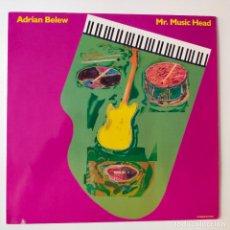 Disques de vinyle: ADRIAN BELEW- MR. MUSIC HEAD- EUROPE LP 1989- KING CRIMSON- DAVID BOWIE-VINILO COMO NUEVO.. Lote 277227013