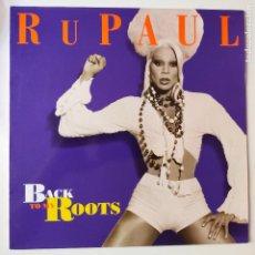 Discos de vinilo: RUPAUL- BACK TO MY ROOTS- SPAIN MAXI SINGLE 1993- COMO NUEVO.. Lote 277228083