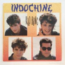 Discos de vinilo: INDOCHINE – KAO BANG (NOUVEAU MIXAGE) / OKINAWA SWEDEN,1984 ESTRANDED REKORDS. Lote 277228398