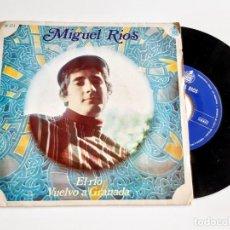 Discos de vinilo: MIGUEL RIOS DISCO VINILO 45 RPM. Lote 277229018