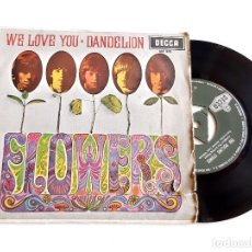 Disques de vinyle: THE ROLLING STONES DISCO VINILO 45 RPM. Lote 277231618
