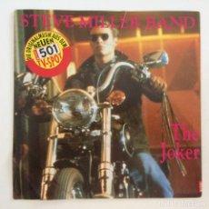 Discos de vinilo: STEVE MILLER BAND – THE JOKER -DON'T LET NOBODY TURN YOU AROUND 1990-GERMANY SINGLE CAPITOL. Lote 277231683
