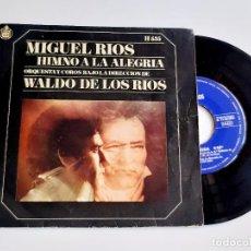 Discos de vinilo: MIGUEL RIOS DISCO VINILO 45 RPM. Lote 277234623