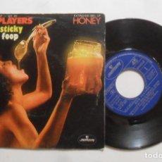Discos de vinilo: SINGLE - OHIO PLAYERS - A: SWEET STICKY THIN - B: FOPP - MERCURY - 1975. Lote 277240723