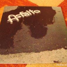 Discos de vinilo: ASFALTO LP AL OTRO LADO CHAPA PROMOCIONAL ESPAÑA 1978 LAMINADA DESPLEGABLE. Lote 277241233