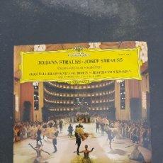 Discos de vinilo: DISCO JOHANN STRAUSS Y JOSEF STRAUSS. Lote 277241363