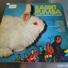 Discos de vinilo: RABBIT RUMBA - PRIMERA ANTOLOGIA DE LA RUMBA -, LP, BELEN, BELEN + 9, AÑO 1972. Lote 277241888
