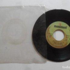 Discos de vinilo: SINGLE - TONY JOE WHITE - A: GROUPY GIRL - B: HIGH SHERIFF - 1970. Lote 277242338