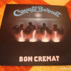 Discos de vinilo: CAVALL BERNAT LP BON CREMAT HABANERES CANÇONS MARINERES ESPAÑA 1988 + LETRAS. Lote 277242723