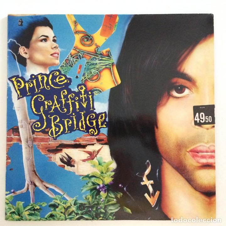 PRINCE – GRAFFITI BRIDGE 2 VINYLS GERMANY,1990 PAISLEY PARK (Música - Discos - LP Vinilo - Funk, Soul y Black Music)