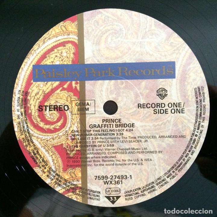 Discos de vinilo: Prince – Graffiti Bridge 2 Vinyls Germany,1990 Paisley Park - Foto 7 - 277243173